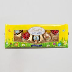 My very favorite candy!!!  One of my favorite discoveries at WorldMarket.com: Lindt Bugs 'n Bees