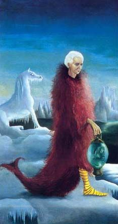 Leonora Carrington, Portrait of Max Ernst, 1939, Private Collection.