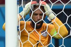 U.S. Stunned By Last-Minute Portugal Goal In World Cup Thriller - US goalkeeper Tim Howard reacts after a goal from Portugal's forward Silvestre Varela during a Group G match between USA and Portugal at the Amazonia Arena in Manaus during the 2014 FIFA World Cup on June 22, 2014.