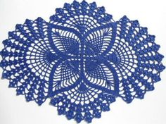 Free+Crochet+Doily+Patterns | Crochet Art: Crochet Doilies - Free Crochet Pattern - Oval Lace ...