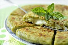 Torta+di+patate+al+pesto+in+padella