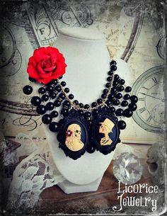 Wedding Sale 35% Off Till Death Do Us Part by LicoriceJewelry
