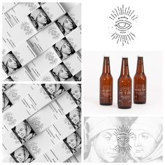 Drunken Eyes is a student project - branding concept for a craft beer company.