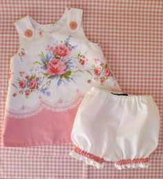Image of The Perfect A Line Dress for Baby Reversible Dress Pattern 0-24 months