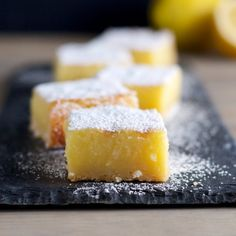 Whole Lemon Bars are easy to make and the perfect balance between sweet and tart!
