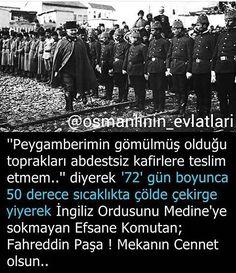Efsane komutan Fahreddin Paşa #OsmanlıDevleti
