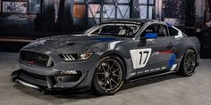 The Ford Mustang GT4 Is a Shelby GT350-Based Ready-Made Race Car - RoadandTrack.com