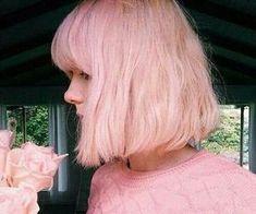 #pinkhair #bobcut #pink