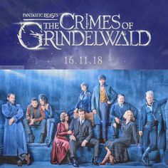 First look at the cast for Fantastic Beasts: The Crimes of Grindelwald.