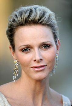 Charlene de Monaco. Sweet, serene, sensational.