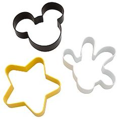 Mickey Mouse cutters.