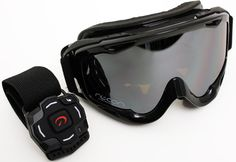 "Goggles with a ""heads-up"" display—tracking your speed, vertical stats, altitude, location, distance traveled and even temperature."