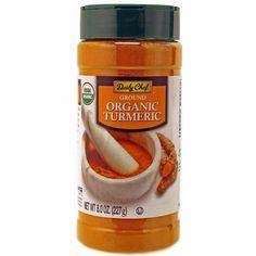 Daily Chef ORGANIC ground tumeric powder 8 oz jar spice seasoning rice soup #DailyChef