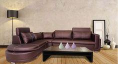 Picture Of Armani Bhukati Leatherette Sofa L
