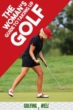 Planning to learn how to golf? Here& our women& guide on everything girls need to know about playing golf. Wrestling Quotes, Volleyball Tips, Golf Score, Golf Chipping, Golf Instruction, Golf Putting, Golf Quotes, Golf Lessons, Soccer Training
