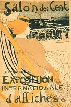 Les Arts Décoratifs - Site officiel - Toulouse-Lautrec (1864-1901) - Salon de Cent, Toulouse-Lautrec, 1896