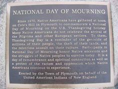 On Thanksgiving, Native American students reflect. Some Native American students say Thanksgiving is not a happy holiday, reminds them of the genocide of their people.