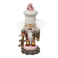 """Our 7.8"""" Gingerbread Nutcracker has its own distinctive personality! We hope this collectible brings a little joy of the season to your home and that you treasure it for years to come.   Order online or pick up in store today!  ---------------------  Drosselmeyer's Nutcracker Shoppe's selection of working nutcrackers is a wonderful surprise. Find unique, vintage, functioning nutcrackers for sale in the heart of Steubenville."""