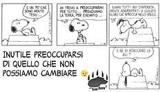 È solo questione di saggezza.... ma non è sempre facile fermarsi ad esserlo.  #linus, #charlesschultz, #snoopy, #comics, #striscia, #fumetti, #accettazione, #italiano,