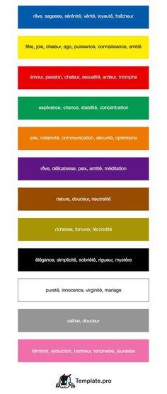 Au moment de créer la charte graphique de votre entreprise, le design de votre site internet ou votre prochain template, les couleurs ont une importance capitale. Chacune d'elle agit comme un levier psychologique chez le prospect. Cela est involontaire et c'est simplement que notre cerveau est conditionné pour assimiler certains coloris à des émotions, des sensations et des significations.