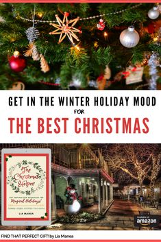 A cozy read for Christmas Inspiration! Planner, ideas, stories, cookie recipes, fun cocktails, party games and lots of fun. Includes a link for the Printables. #Christmasinspiration #Christmasreads #kindlebooks #ChristmasPlanning #winterholidays #gifttracker #holidaybucketlist #bestChristmas