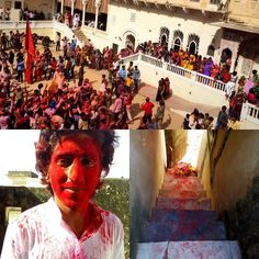 Happy holi in Mandawa. #rajasthan #mandawa #india #inspiration #monsoonandbeyond