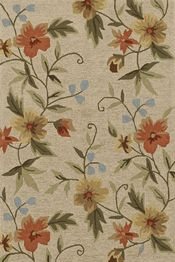 Dalyn Area Rugs: Terrace Rug: TE11 Linen  This outdoor rug is screaming to be put next to a quaint rose garden.