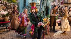 Watch Alice Through The Looking Glass (2016) Full Movie Online