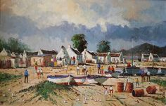 South African Contemporary and Upcoming Artist & Old Masters Art Gallery. Upcoming Artists, South African Artists, Art Gallery, Fishing, Community, People, Painting, Sup Fishing, Art Museum