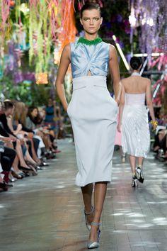 Variety of silhouettes on Dior's Runway #ParisFashionWeek #ChristianDior #Spring2014 #RTW #PFW