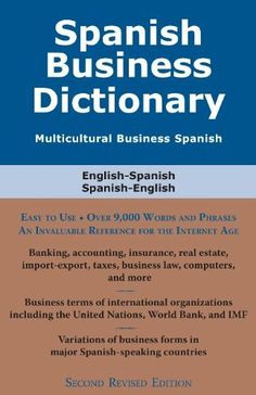 Buy Spanish Business Dictionary: Multicultural Business Spanish by Morry Sofer and Read this Book on Kobo's Free Apps. Discover Kobo's Vast Collection of Ebooks and Audiobooks Today - Over 4 Million Titles! Spanish English, Audiobooks, This Book, Ebooks, The Unit, Reading, Words, Business, Free Apps