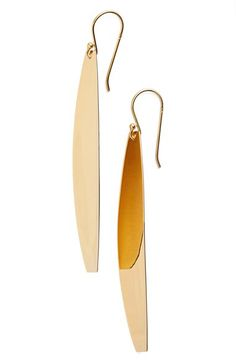 Argento Vivo Argento Vivo Elongated Drop Earrings available at #Nordstrom