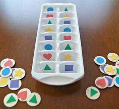 Matemáticas refrescantes » Actividades infantil