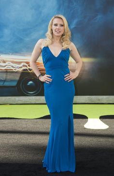 "Actress Kate McKinnon attends the Los Angeles Premiere of ""Ghostbusters"" in Hollywood, California, on July 9, 2016. / AFP / VALERIE MACON"