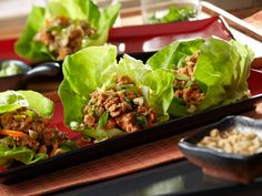 Asian Lettuce Cups - Made with Chinese Hot & Sour Flavor Infused Broth