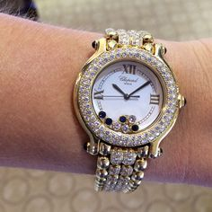 Diamonds on my wrist!