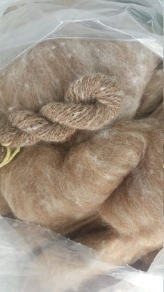 Angora Blend Roving by KatezGenuineArticle on Etsy