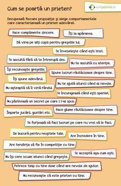 Prietenia adevarata - SuntParinte.ro Therapy Activities, Kindergarten Activities, Science Activities, Kids And Parenting, Parenting Hacks, Romanian Language, Kids Poems, Spring Crafts For Kids, Motivational Messages