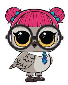 LOL Surprise Doll Pets Eye Spy Series 4 Teacher Owl Hoot