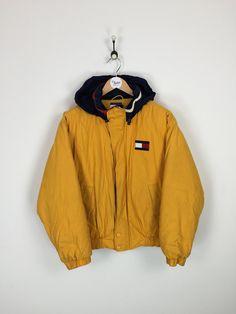 Tommy Hilfiger Coat Yellow Medium/Large