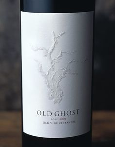Old Ghost Wine Klinker Brick Winery Wine Label & Package Design Clement California: