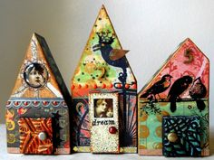 house collage wood art - Yahoo Image Search Results