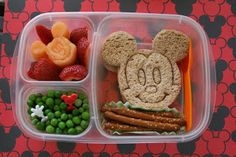 Mickey Mouse Bento Lunch