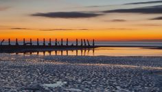Last light across Morecambe Bay by Rob McEwen #Readerphotooftheweek