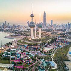 Kuwait City by @yousef_bohamed    #KuwaitCity #Kuwait #bcb_yousef_bohamed