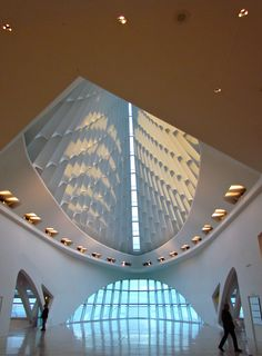The Milwaukee Art Museum (Santiago Calatrava). Photo: Åse Margrethe Hansen