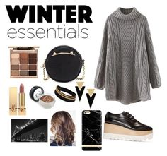 """Winter"" by k-atherine-queen on Polyvore featuring Betsey Johnson, Yves Saint Laurent, Vita Fede, STELLA McCARTNEY, Stila, WALL and Richmond & Finch"
