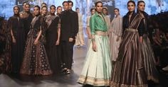 Contemporary and Traditional Clothes for Women from leading Indian fashion designers. Indian Fashion Designers, Indian Designer Outfits, Indian Outfits, India Fashion Week, Lakme Fashion Week, Classic Outfits, Classic Clothes, Indian Clothes Online, Bridal Outfits