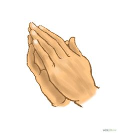 How to Draw Hands Praying: 6 Steps (with Pictures) - wikiHow