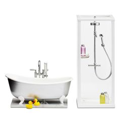 Lundby badkar och dusch